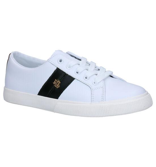Lauren Ralph Lauren Janson II Chaussures à lacets en Blanc