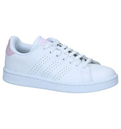 Witte Sneakers adidas CF Advantage Clean in kunstleer (221776)