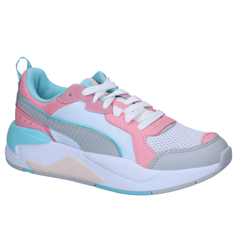 Puma X-Ray Witte Sneakers in stof (265601)