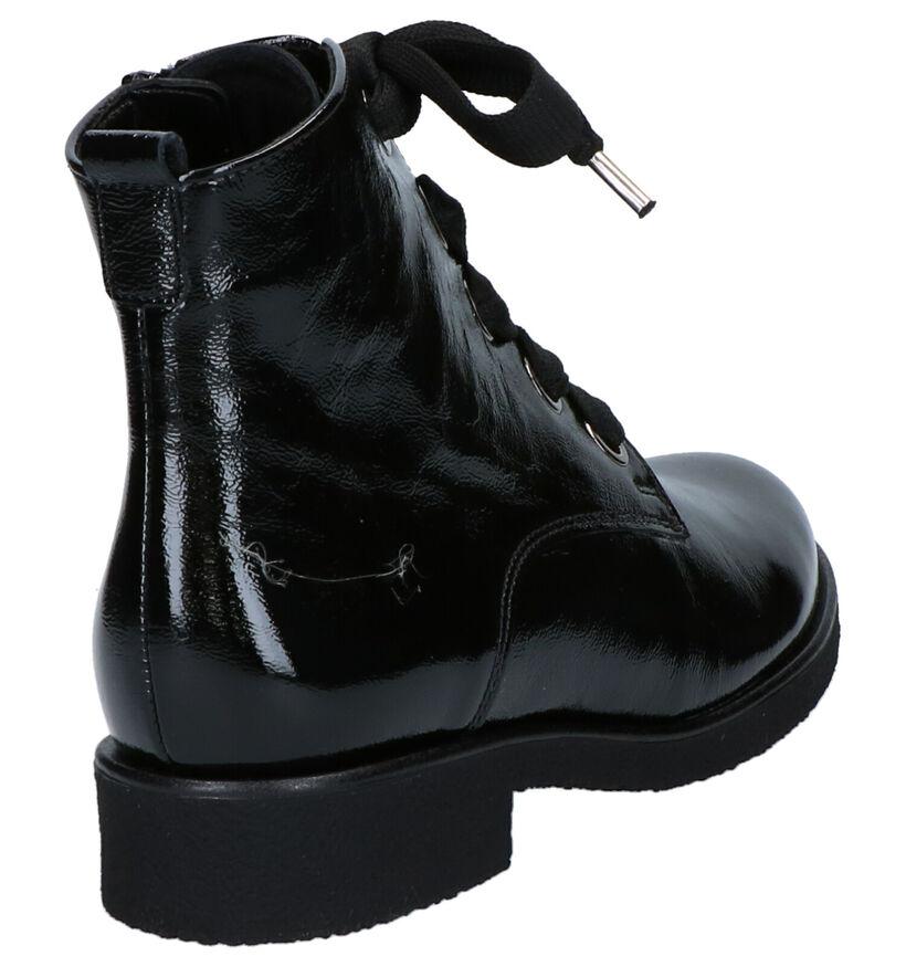 Gabor Zwarte Boots in lak (260230)