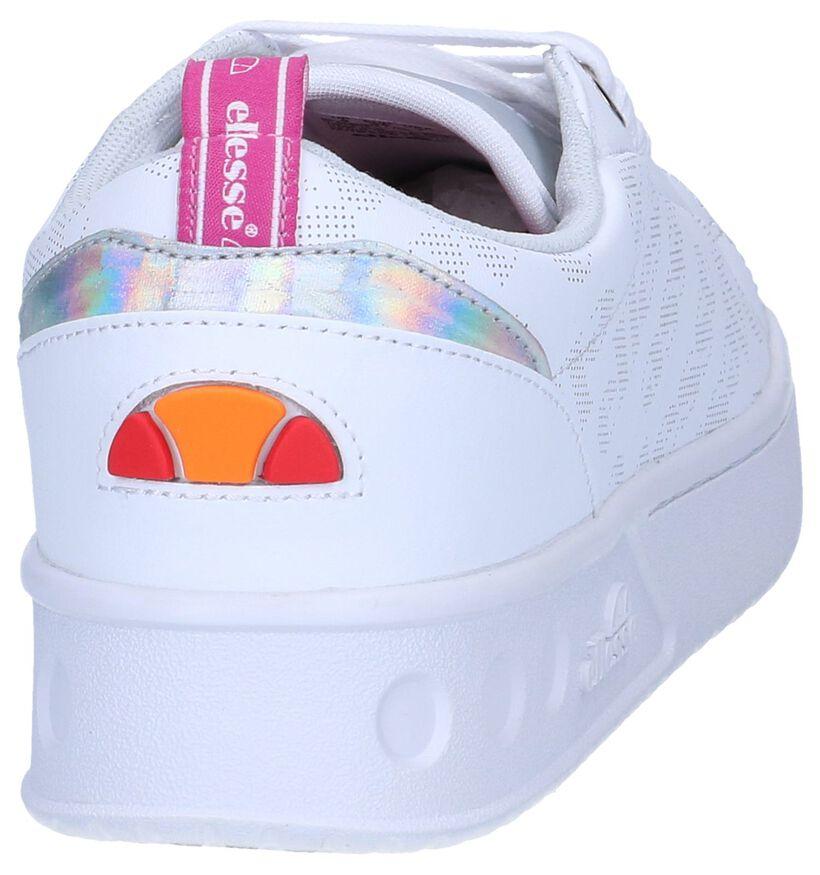 Witte Sneakers Ellesse Mezzaluna in leer (241716)