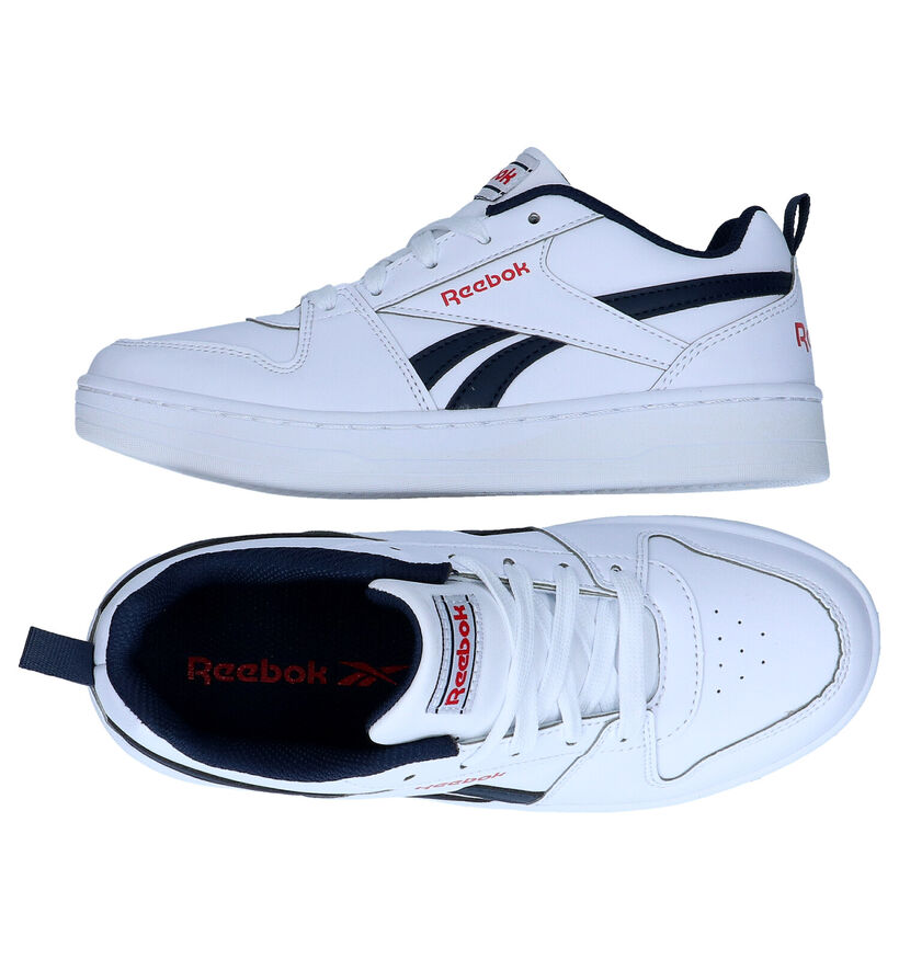 Reebok Royal Prime Baskets en Blanc en simili cuir (277006)