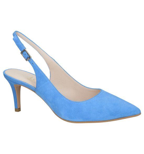 Lodi Escarpins à talon ouvert en Bleu