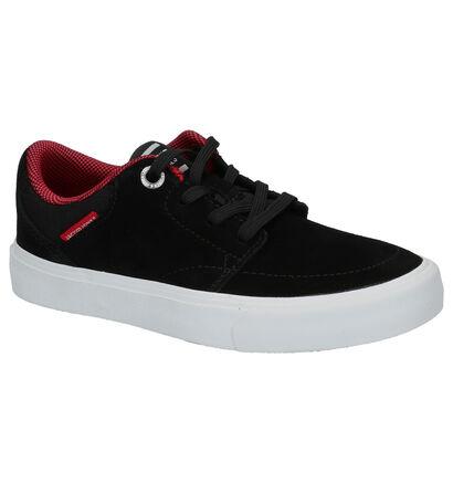 Jack & Jones Barton Zwarte Skateschoenen in daim (255232)