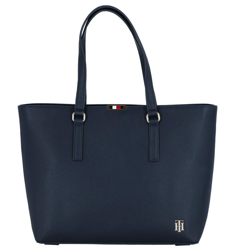 Tommy Hilfiger Cabas en Bleu foncé en simili cuir (276500)
