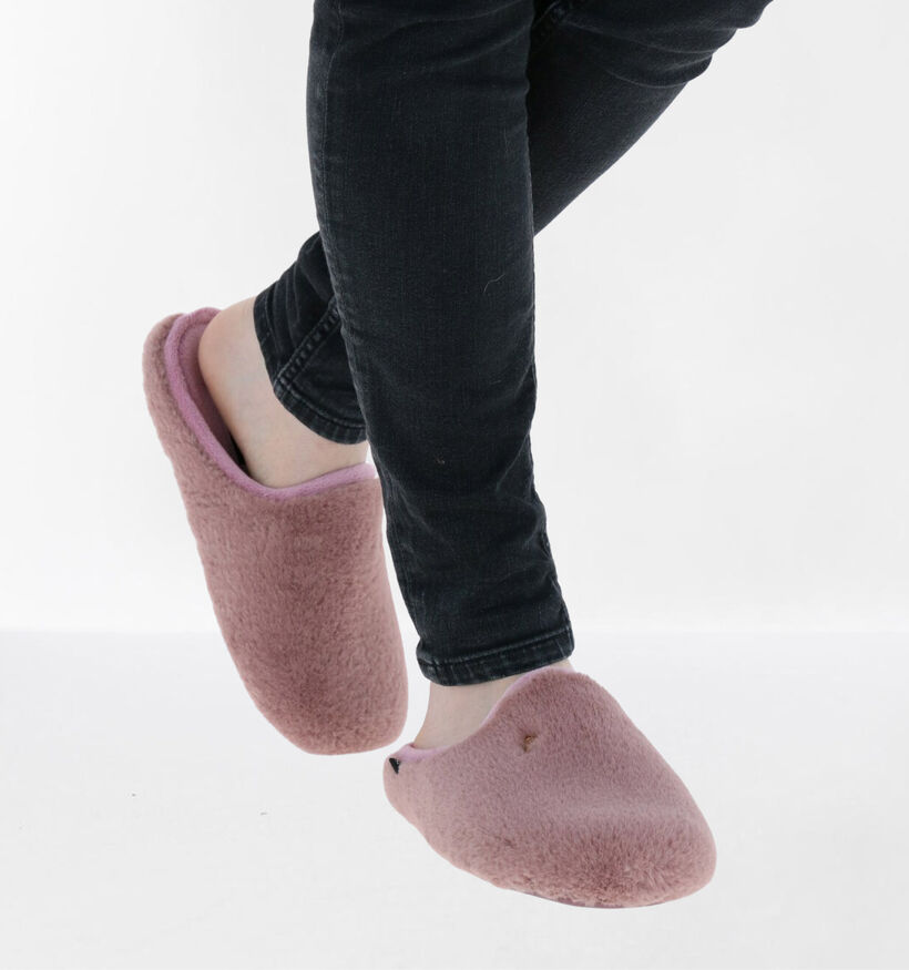 Scapa Roze Pantoffels in stof (281272)