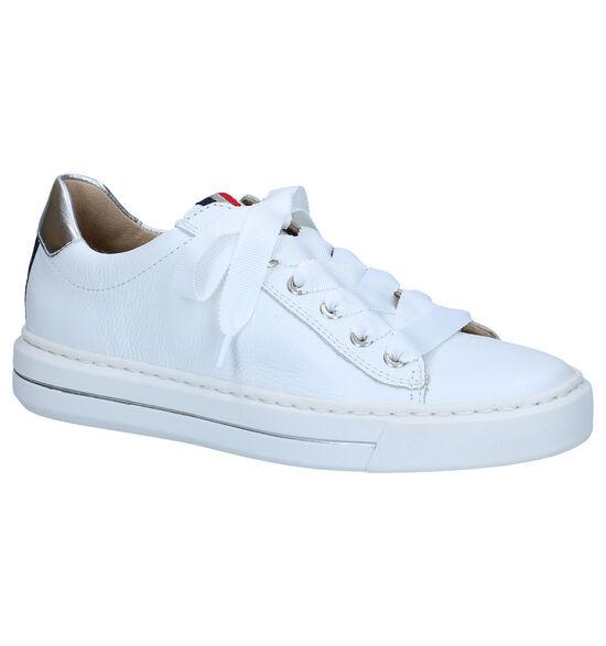 Ara High Soft Witte Veterschoenen