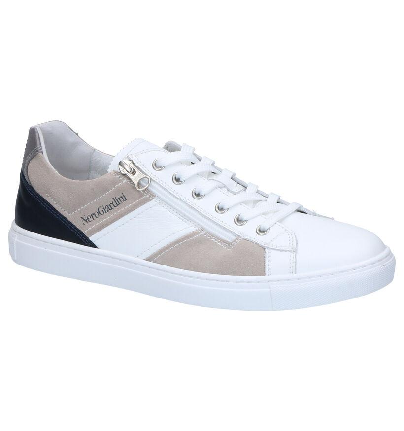NeroGiardini Chaussures basses en Blanc en cuir (270470)
