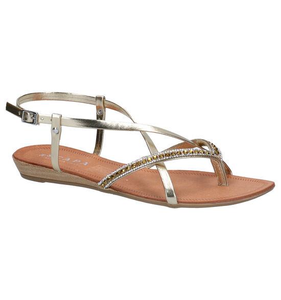 Scapa Ustica Gouden Sandalen