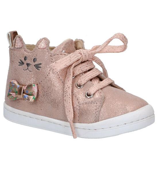 Shoo Pom Kikki Wou Roze Schoentjes