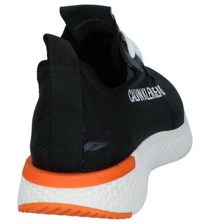 Zwarte Sneakers Calvin Klein Alexia in stof (241599)