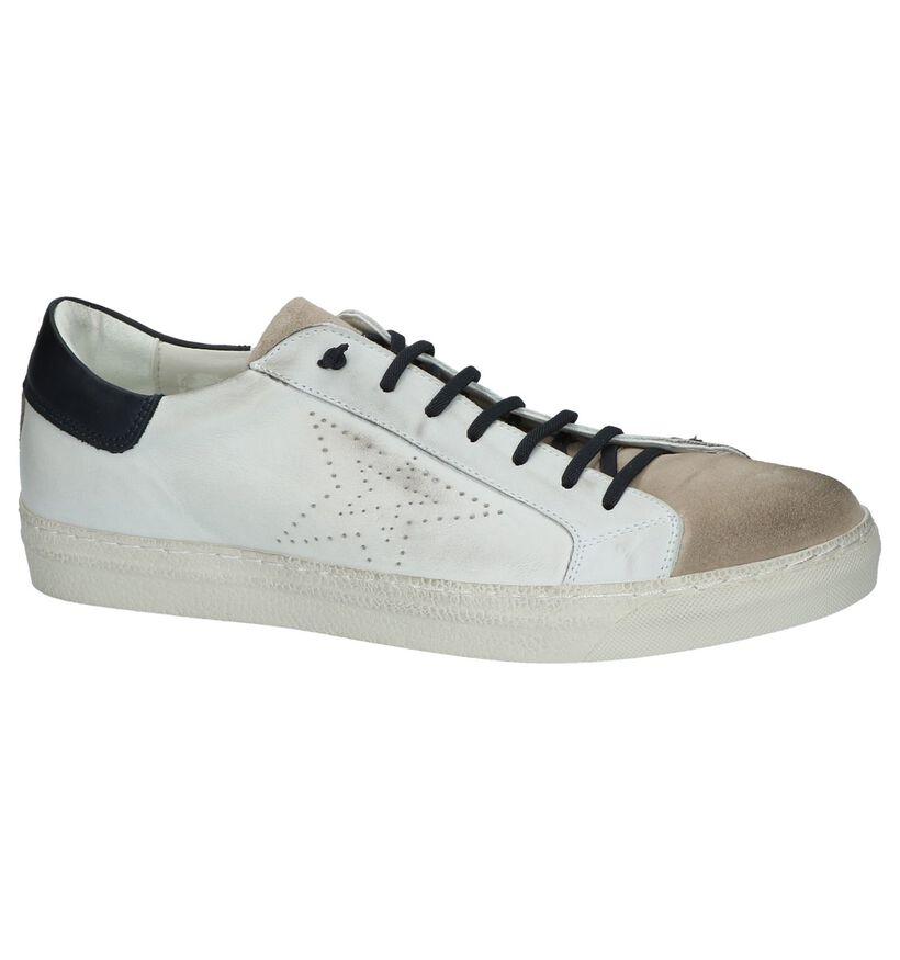 Borgo Sport Baskets basses en Blanc en cuir (209763)