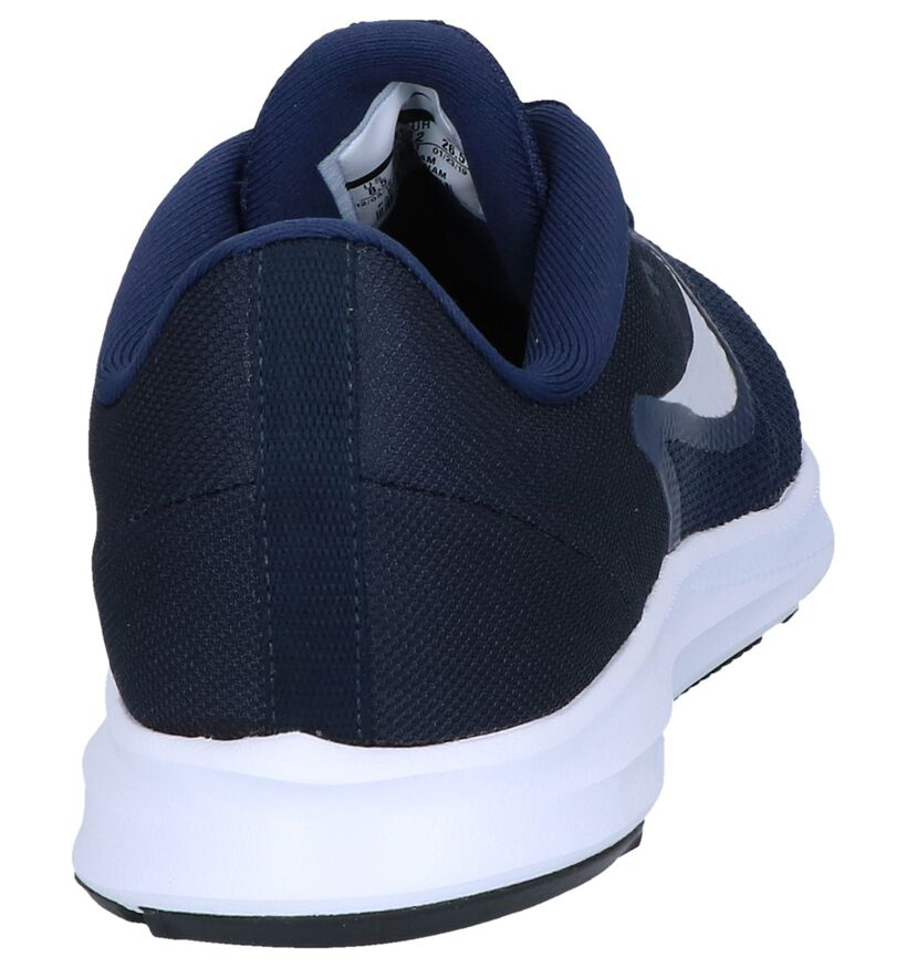Donkerblauwe Runners Nike Downshifter 9 in stof (249780)