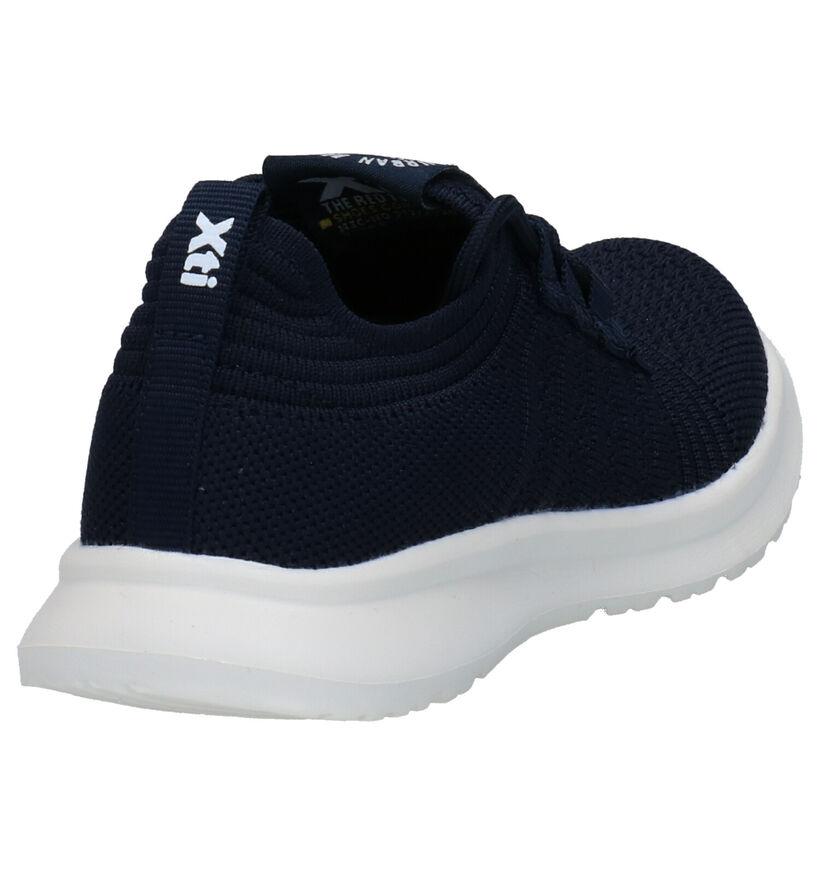 Xti Baskets en Bleu en textile (284290)