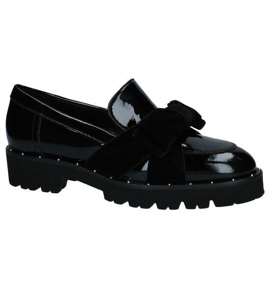 Laké Geklede Loafers Zwart Gadea