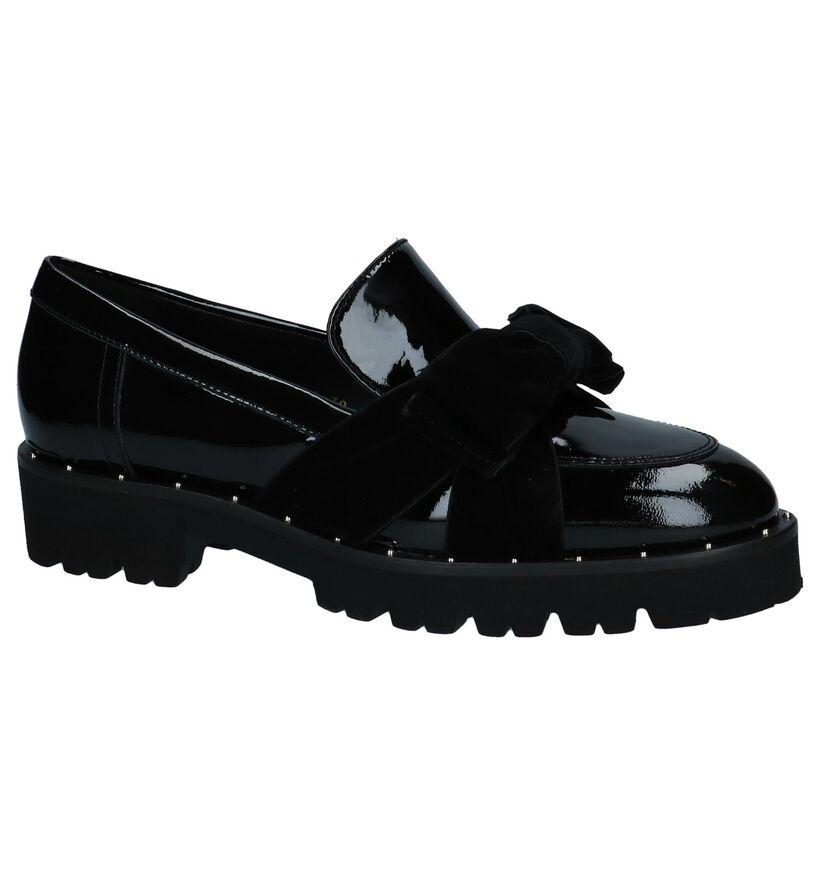 Gadea Loafers en Noir en cuir (232081)