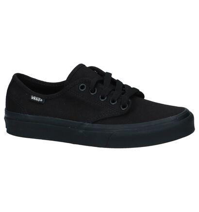 Zwarte Sneakers Vans Camden Stripe in stof (239965)