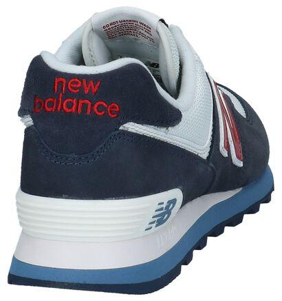 New Balance Baskets basses  (Gris), Bleu, pdp