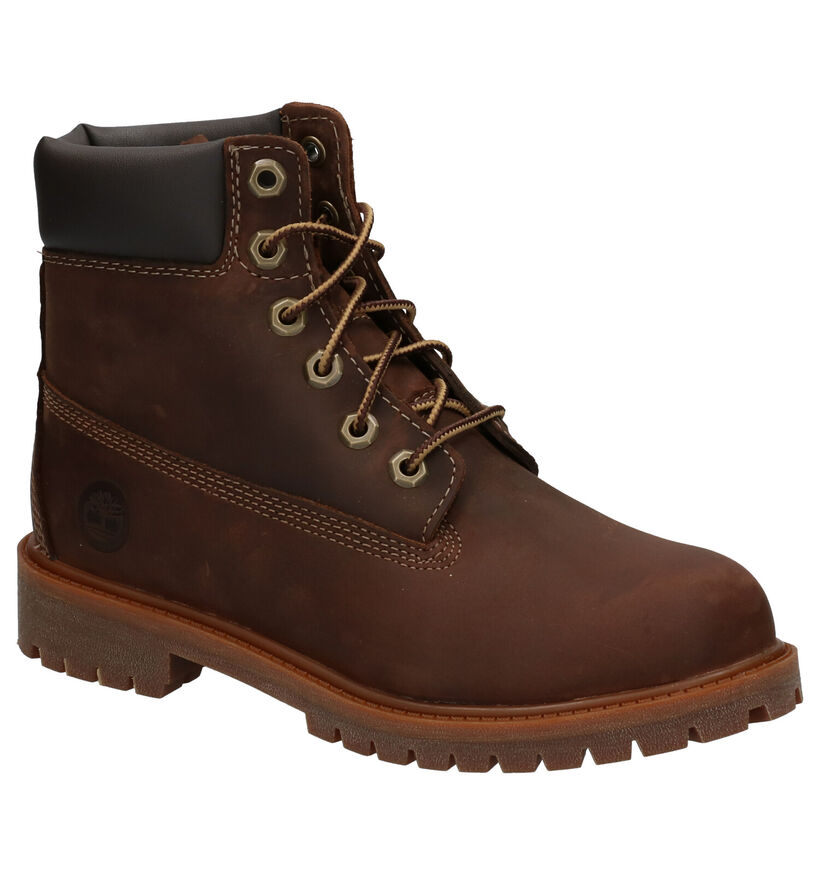 Timberland Authentic 6 Inch Boots Bruin in nubuck (254757)