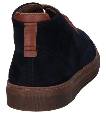 Camel Active Racket Chaussures Hautes en Marron en daim (259373)