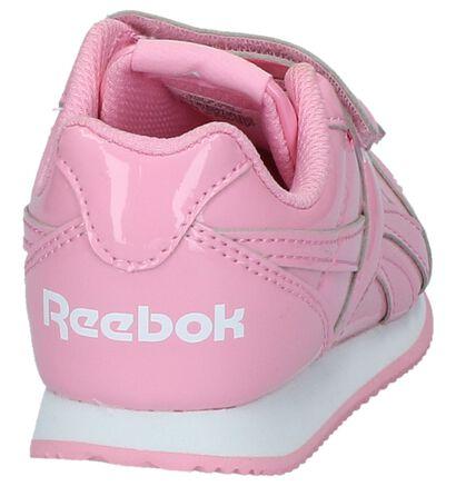 Reebok Baskets basses en Rose clair en cuir verni (221685)