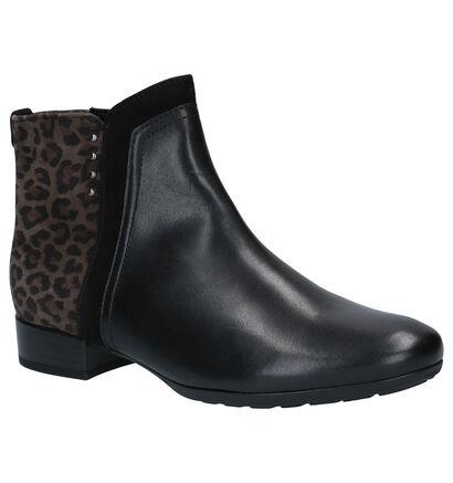 Gabor Comfort Zwarte Boots in daim (260131)