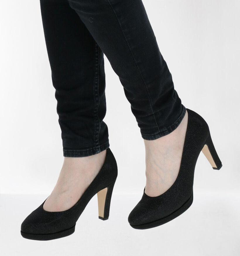 Gabor Soft & Smart Escarpins en Noir en simili cuir (282350)