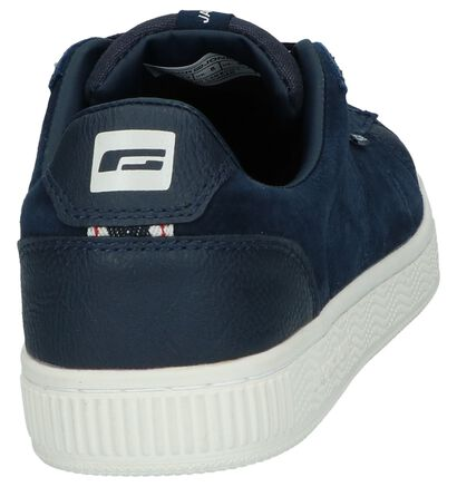Donkerblauwe Casual Schoenen Jack & Jones Olly Nubuck, Blauw, pdp