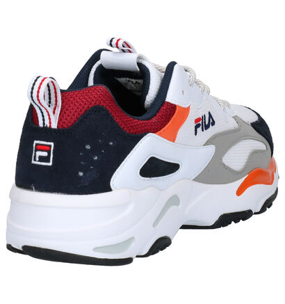 Fila Ray Tracer Witte Sneakers in daim (253517)
