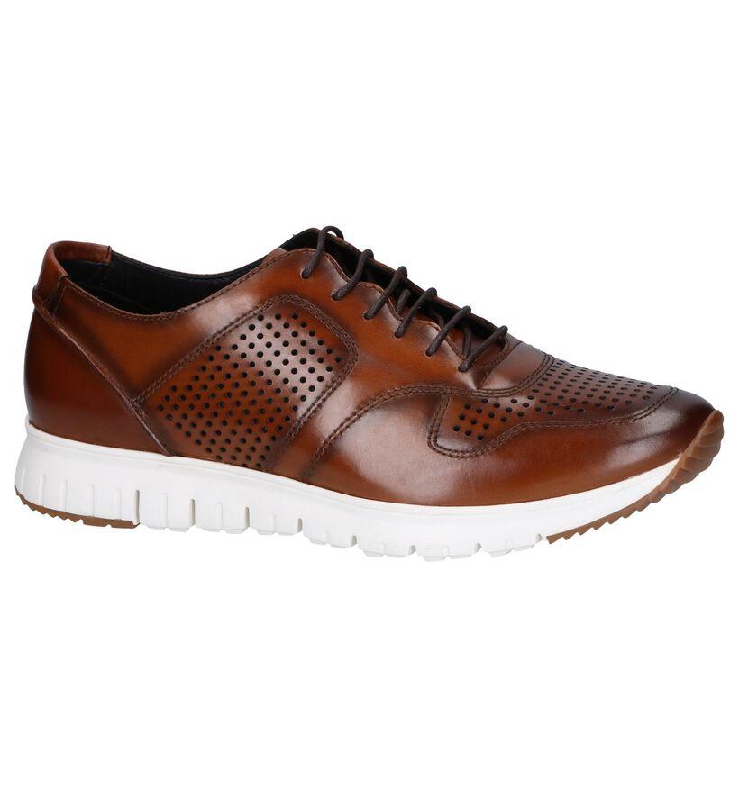 Steptronic Chaussures basses en Cognac en cuir (251493)