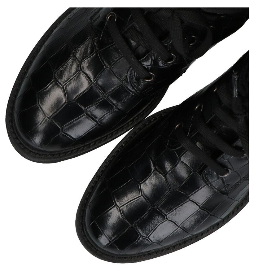 Hampton Bays Bottines en Noir en cuir (277839)