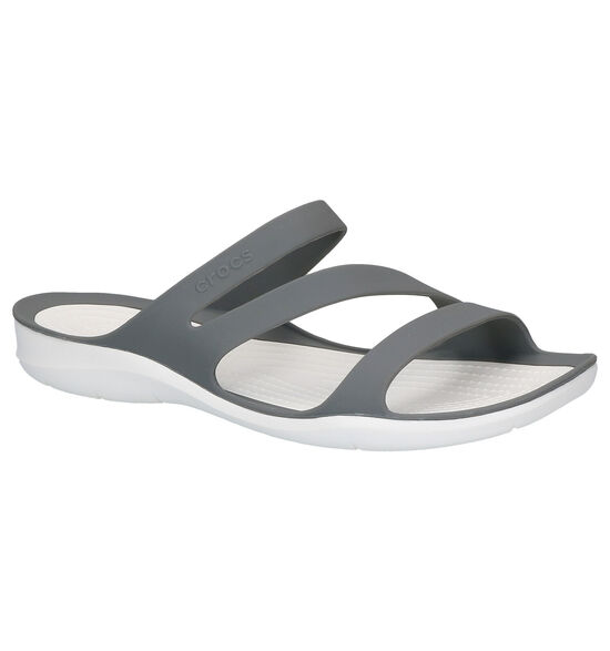 Crocs Swiftwater Witte Slippers