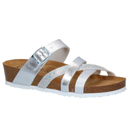 Ara Bali Zilveren Slippers
