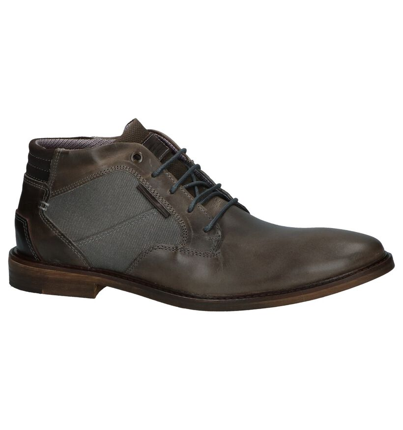Bullboxer Chaussures hautes en Cognac en cuir (239048)