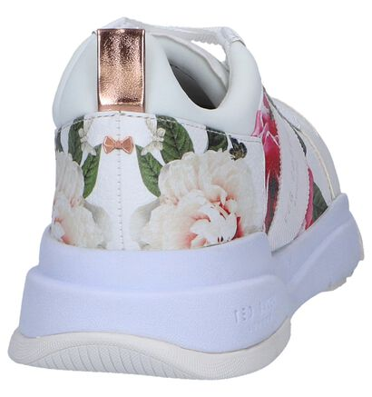 Ecru Sneakers Ted Baker Waverdi in leer (241711)