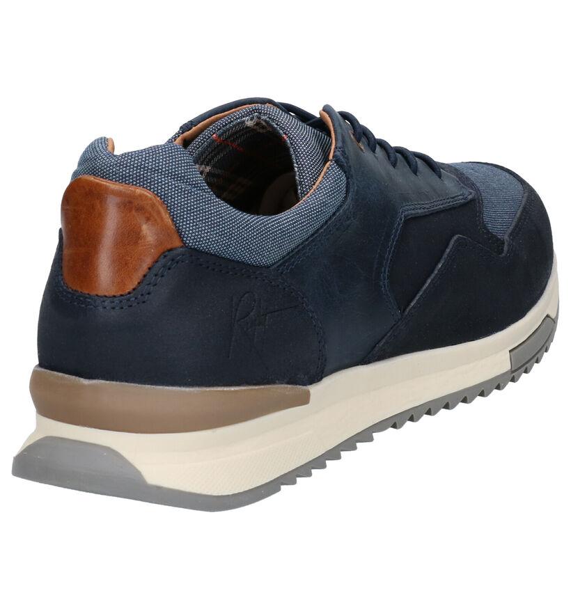 Bullboxer Chaussures basses en Bleu foncé en cuir verni (272192)