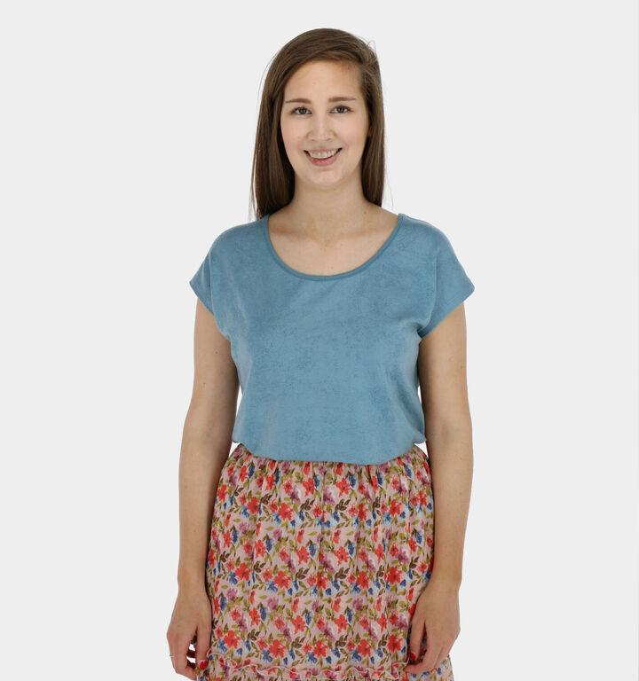 Zoso Sandy T-shirt manches courtes en Bleu
