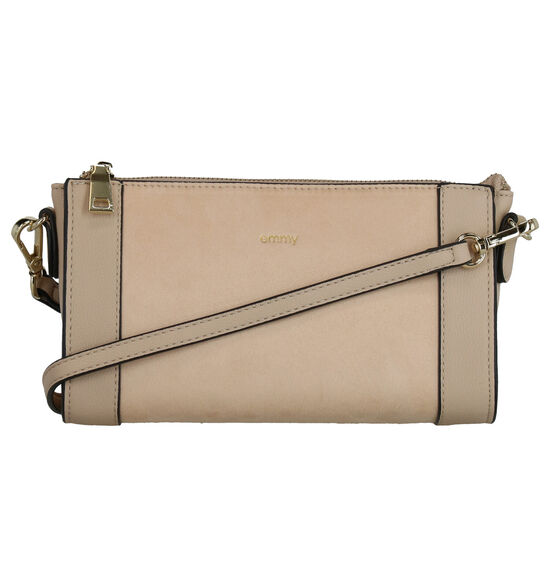 Emmy Wieleman Papaya Beige Crossbody Tas