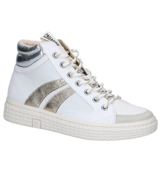 Palladium Tempo Witte Boots