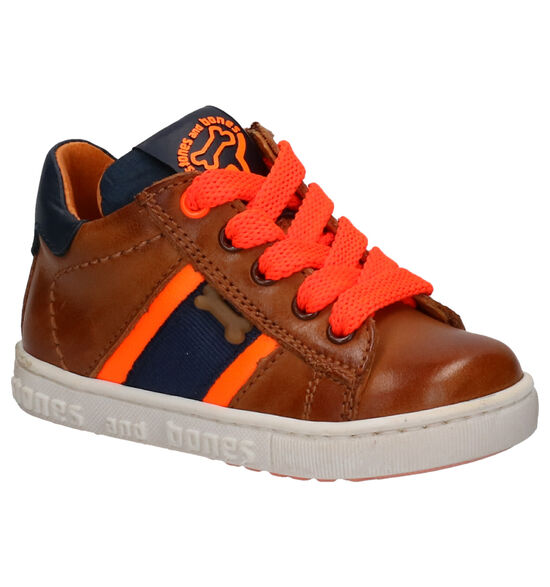 STONES and BONES Cibe Chaussures en Cognac