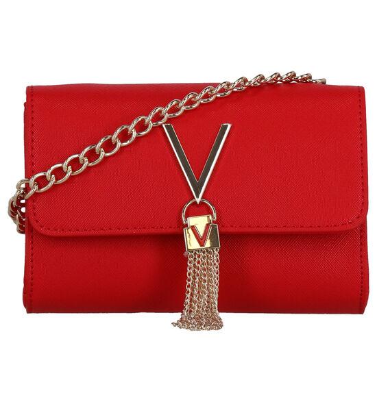 Valentino Handbags Divina Sac porté croisé en Rouge