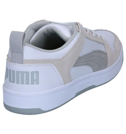 Puma Baskets basses en Blanc en nubuck (252597)