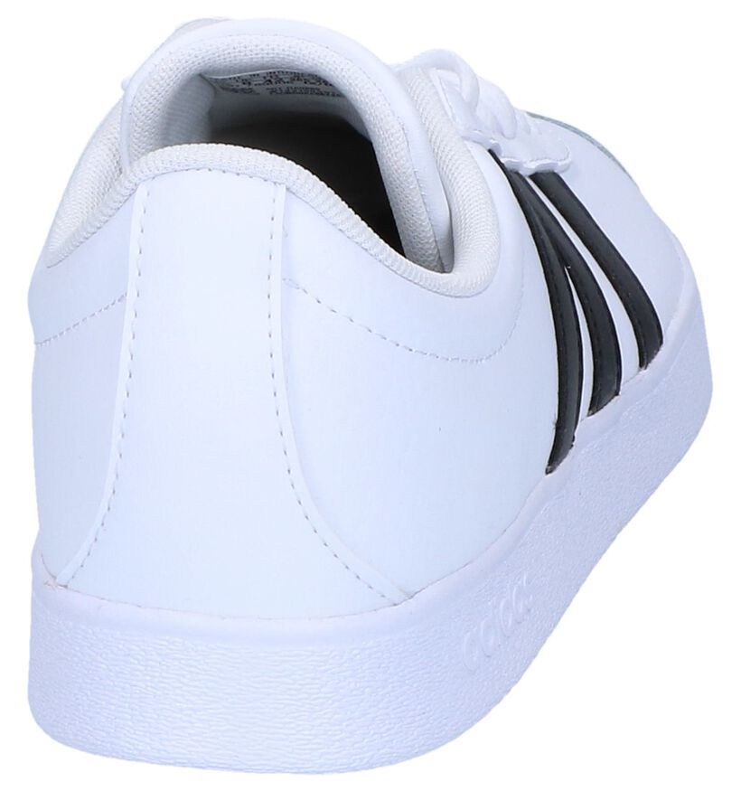Witte Sneakers adidas VL Court 2.0 in kunstleer (237097)