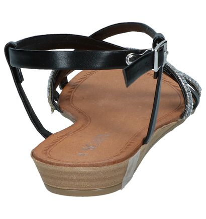 Scapa Sandales plates en Or rose en simili cuir (245871)