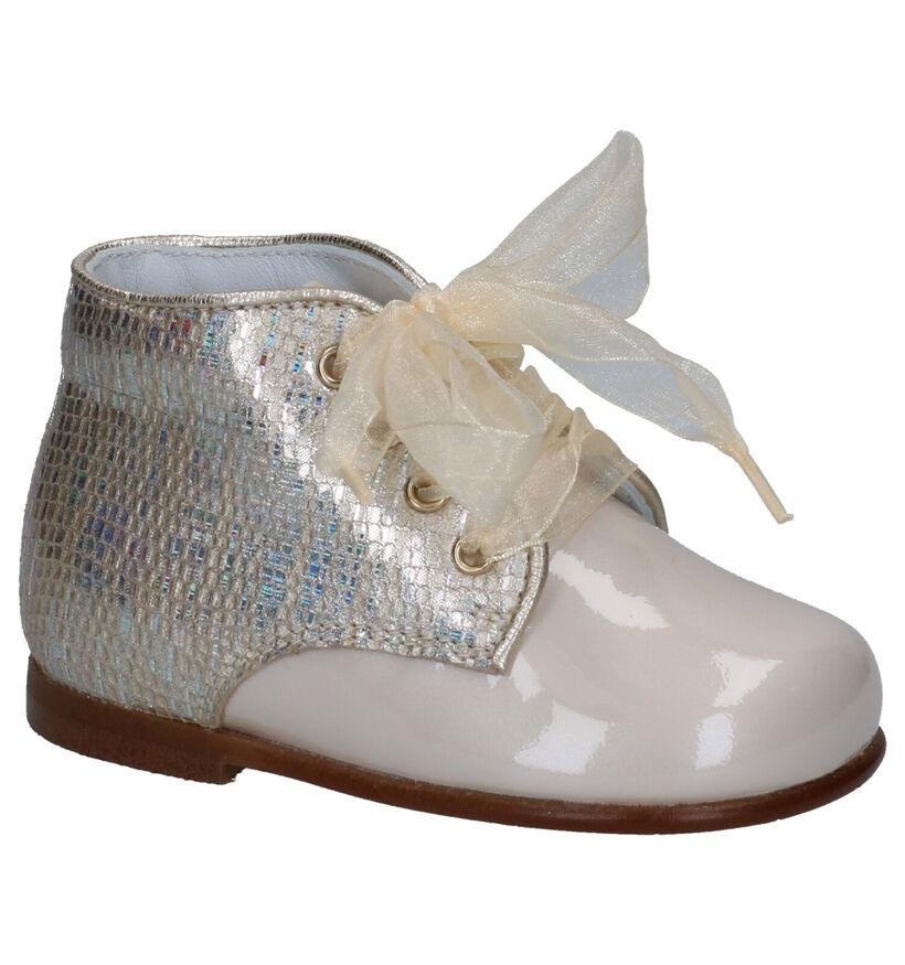 Beberlis Chaussures pour bébé  en Beige clair en cuir (271459)