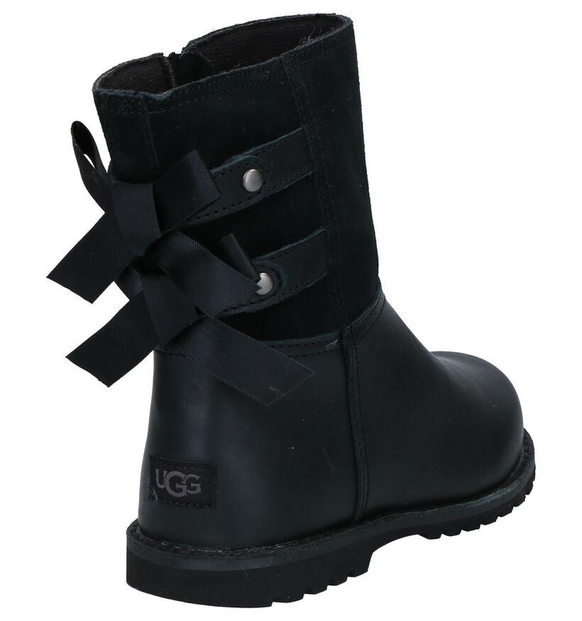 UGG Tara Bottes en Noir en cuir (254119)