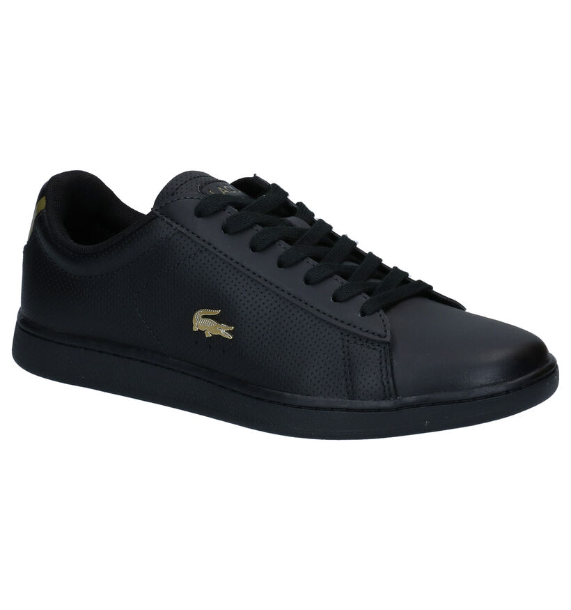 Lacoste Carnaby Evo Zwarte Sneakers in kunstleer (277667)