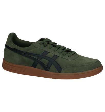 Asics Gel Vickka Trs Kaki Sneakers in daim (222704)