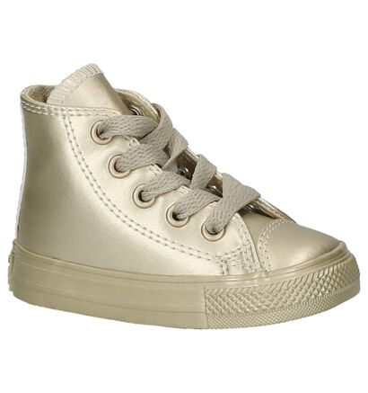 Converse Baskets hautes  (Blanc), Or, pdp