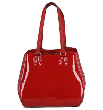 Valentino Handbags Pascal Zwarte Schoudertas in lakleer (259227)